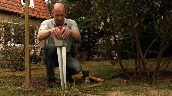 Micha hilft: Pergola bauen